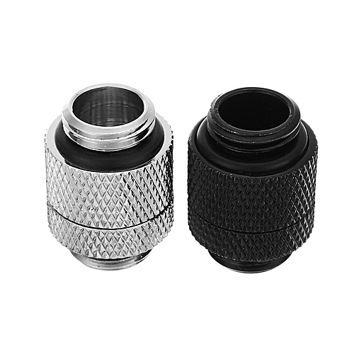 G1/4″ Thread Male To Male Water Cooling Fittings 360° Rotary Fittings