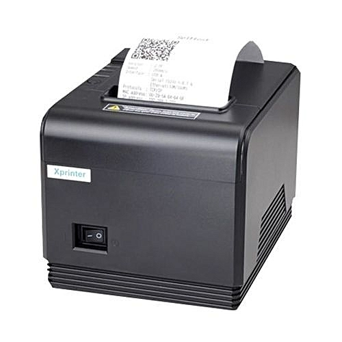 POS Thermal Printer With Autocutter- Q200 80mm -Black