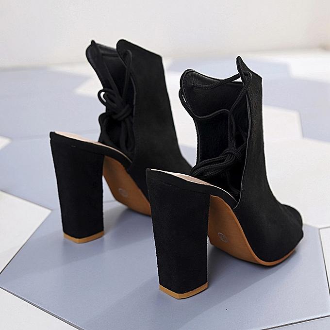 5694cf2c608 ... Bliccol High Heel Shoes Women s Shoes Platform Ladies Sandals Ankle  Strap Peep Toe High Heel Shoes