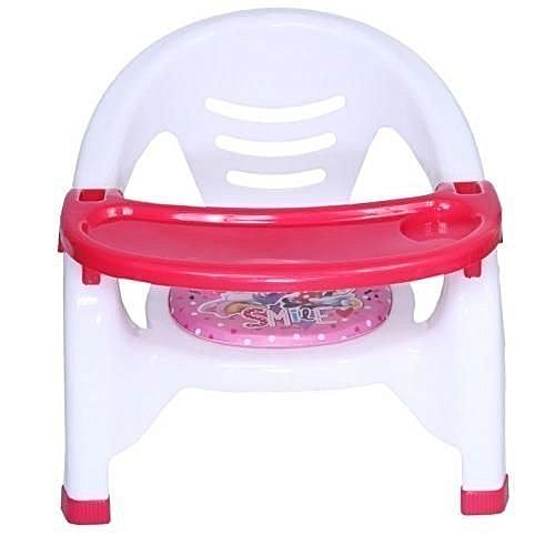 Disney Baby Chair With Attached Table Top Pink Blue