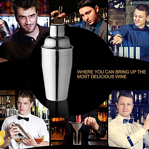 Stainless Steel Cocktail Wine Shaker Cocktail Mixer For Party Bar Wedding Tool