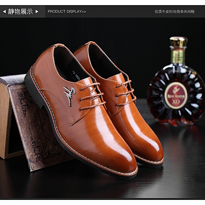 5797217eadc 06 Super Big Large Size Business Cool Good Summer Men s Gentle Wedding  Office Leather Shoes Men