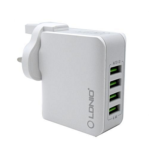 LDNIO  4 Usb Ports Phone Charger
