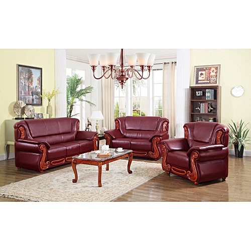 Kingday Leather Chair Set