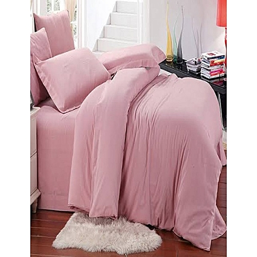 Duvet Cover With Pillowcases - Pink