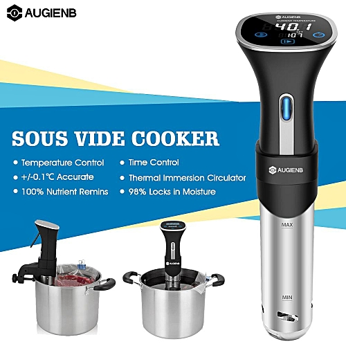 AUGIENB Sous Vide Precision Cooker Immersion Circulator Temperature Control LCD 220-240V EU Plug
