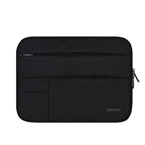 BESTCHOI 11.6 13.3 15.4 Inch Laptop Sleeve Handbag For Macbook Air 13 11 New 12 Notebook Bag For Macbook Pro Retina 13 15 Case(Black Sleeve)
