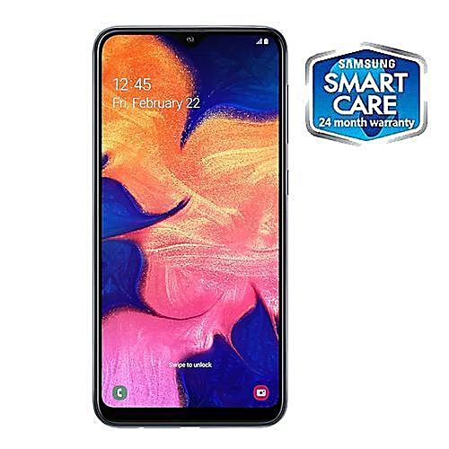 Galaxy A10 6 2-Inch (2GB RAM, 32GB ROM) Android 9 0,13MP Rear Camera + 5MP  Front, 4G LTE Smartphone Black