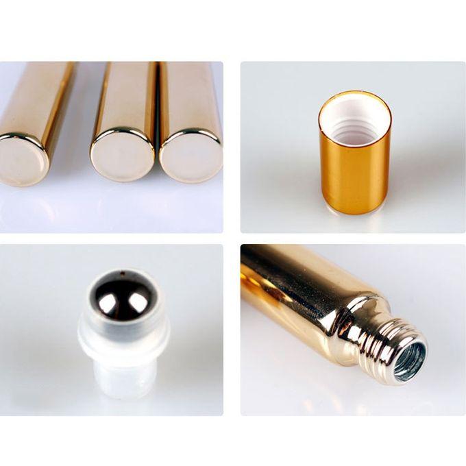 Liplasting 10ml Clear Refillable Roller Ball Essential Oil Perfume Bottle UV Coating