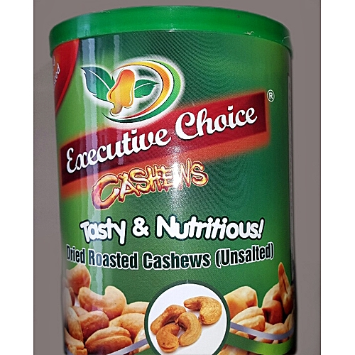 Whole Cashews Fried Roasted (Unsalted)
