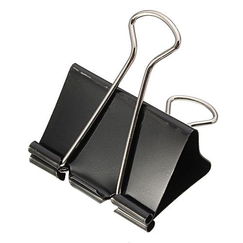 10x Foldback 51mm Grip Clips Clamp Organizer Bulldog Style For Paper Document