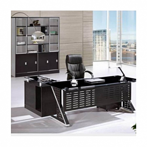 1.6M Yatian Glass Executive Table (Delivery In Lagos, Ibadan And PortHarcourt Only)