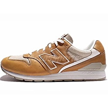 New Balance Men Leather Running Shoes Yellow White MRL996JQ US8 RHK2
