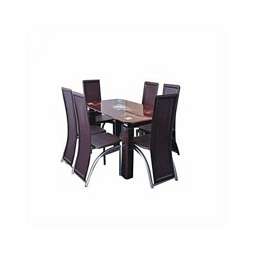 Dinning Table With 6 Dinning Chairs (Delivery In Lagos Only)