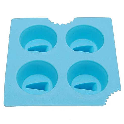 Silicone Shark Fin Ice Tray Cube Freeze Maker Chocolate Mould Mold