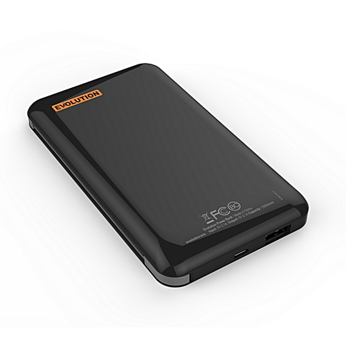 10,000mAh B Series Sleek Power Bank - With Additional FREE Charging Cable