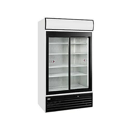 Universal  2 SLIDING DOOR DISPLAY FRIDGE