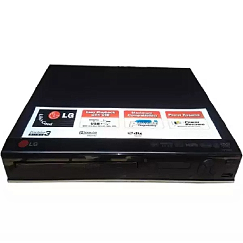 DVD PLAYER WITH REMOTE & LAST MEMORY RESUME
