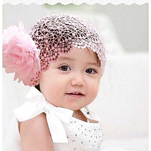 58cad3deda5 Fashion Flower Toddlers Infant Baby Girl Headband Hair Band Headwear Crochet-As  Show