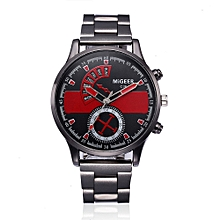 Man's Watches Crystal Stainless Steel Analog Quartz Watch for sale  Nigeria