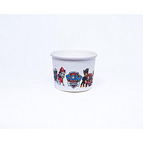 40pcs × Cartoon Character Paw Patrol Baking Cup Cupcake Muffin IceCream Papercups