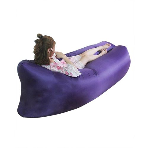 Inflatable Lounger Chair Beach Sleeping Sofa For Various Uses
