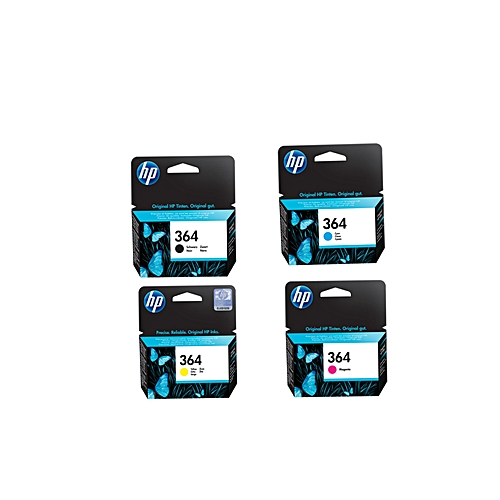364 Black Ink Cartridge (CB316EE) 364 Magenta Ink Cartridge (CB319EE)364 Yellow Ink Cartridge (CB320EE)364 Cyan Ink Cartridge (CB318EE)