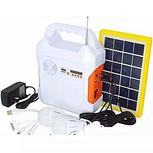 Solar Lantern Kit With Phone Charger And Radio
