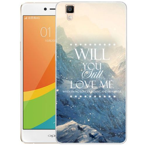 "Universal For OPPO R7S R7SM 5.5"" Inch 3D Stereo Relief Flower Painted TPU Gel Soft"