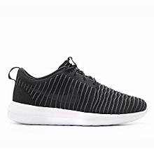 quality design 95042 cc8fc Nike Men Roshe Two Flyknit Black 844833-001