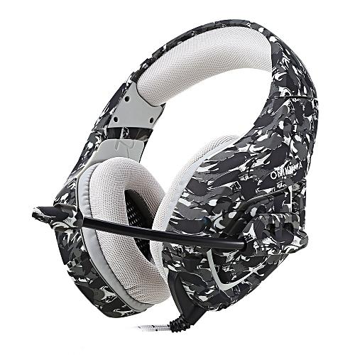 Generic onikuma K1 Stereo Gaming Headset-gray