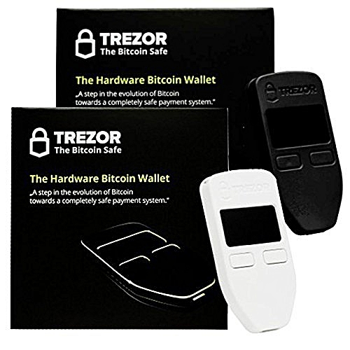 Trezor Cryptocurrency/Bitcoin Hardware Wallet Model One