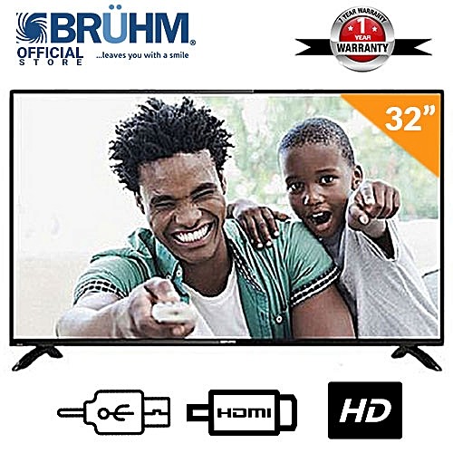 32-Inch BFP-32LEW LED TV + FREE Wall Bracket + 12 Months Warranty
