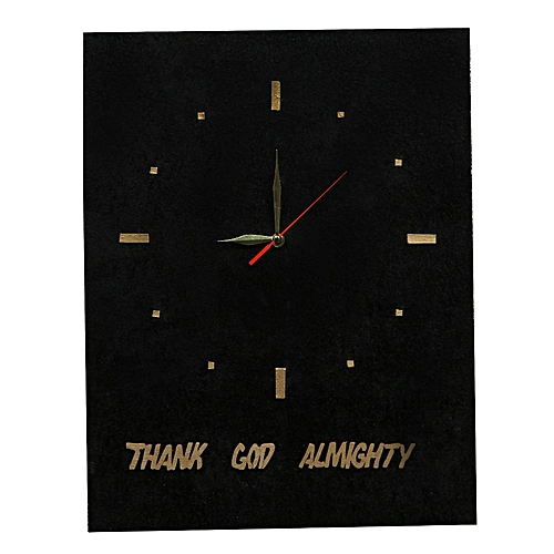 WALL CLOCK DECORATION