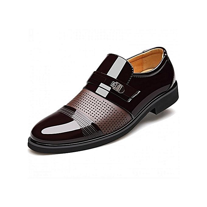 ad461671e947 Nice Beauty Summer Men Hollow Out Men Formal Shoes Men Microfiber Leather  Quality Shoes Breathable Men Shoes For Business 39-48