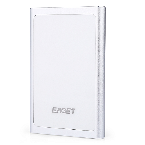 eaget G90 Portable usb 3.0 Metal External Hard Drive 1tb With Encryption Function - Silver
