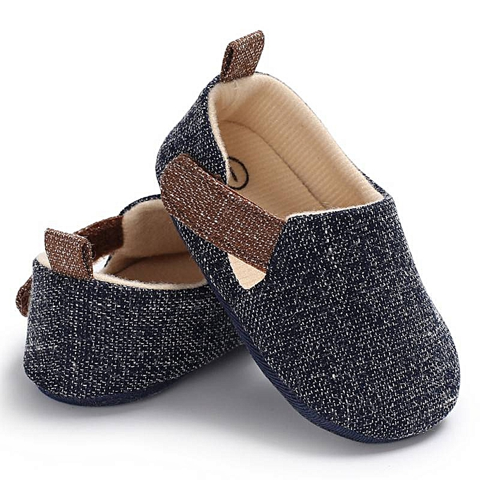 48d8ab1971515 Baby Boy Girl Shoe First Walkers Soft Sole Toddler Shoes