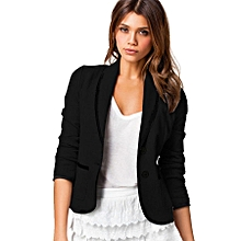 fc98288436c Plus Size 6XL Female Formal Jacket Women Suit Office Wear To Work-black
