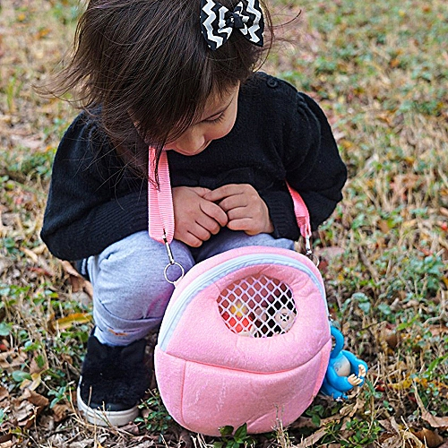 Toy Storage Organizer Compatible With Small Pets Durable Carrying Backpack