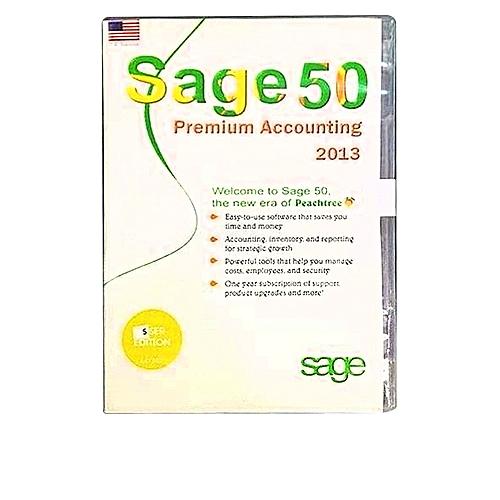 Sage 50 5user Premium Accounting 2013
