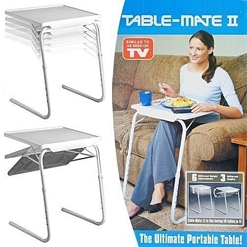 Adjustable Foldable Reading, Feeding And Relaxation Table