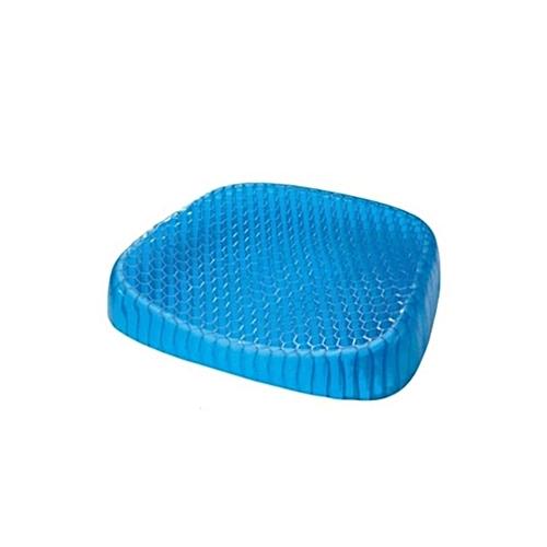 Egg Sitter Gel Cushion Flex Breathable Honeycomb Back Support Ventilate Seat Blue