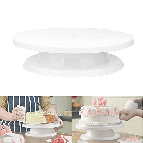 Cake Decorating Turntable Rotating Revolving Icing Kitchen Display Stand