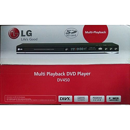 DVD Player, DV450 With Mp3 And Playback