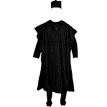 Men's Complete Agbada With Cap