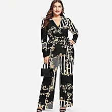 ed6160ce9816a Women Casual Jumpsuits Long Sleeve Playsuits