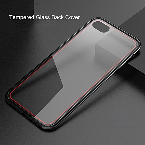 Tempered Glass Case For IPhone 7 Plus Phone Cases Luxury Ultra Thin Transparent Glass Cover For IPhone 7 Plus, Phone Case