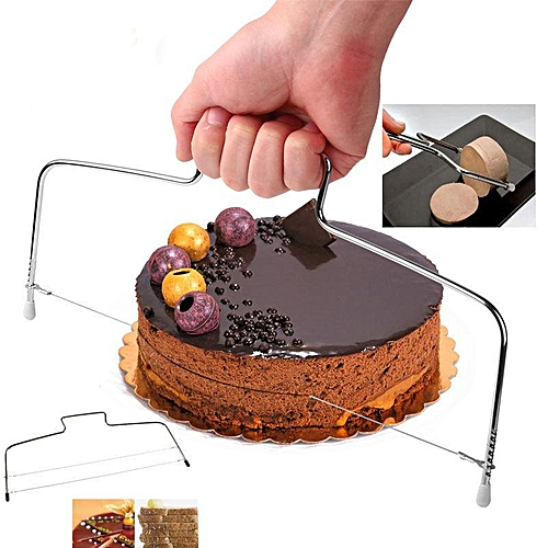 Wire Cake Slicer Leveler Pizza Dough Cutter Trimmer Decor