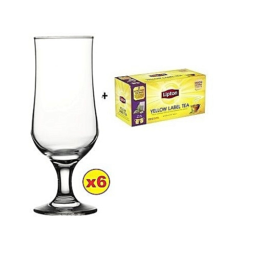 Tulipe Beer Glass Set - 6pcs