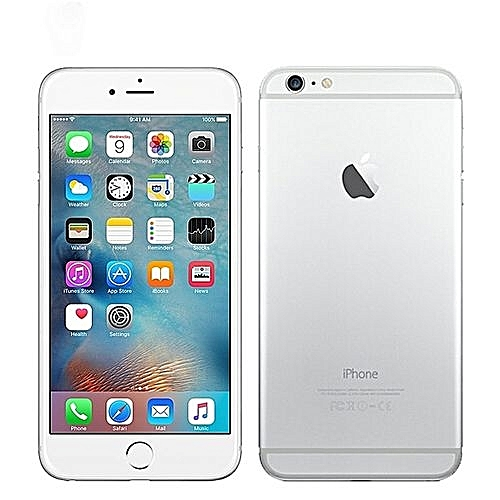 "IPhone 6 Plus 5.5"" 16GB With Finger Sensor 4G LTE (Gift) --Silver"